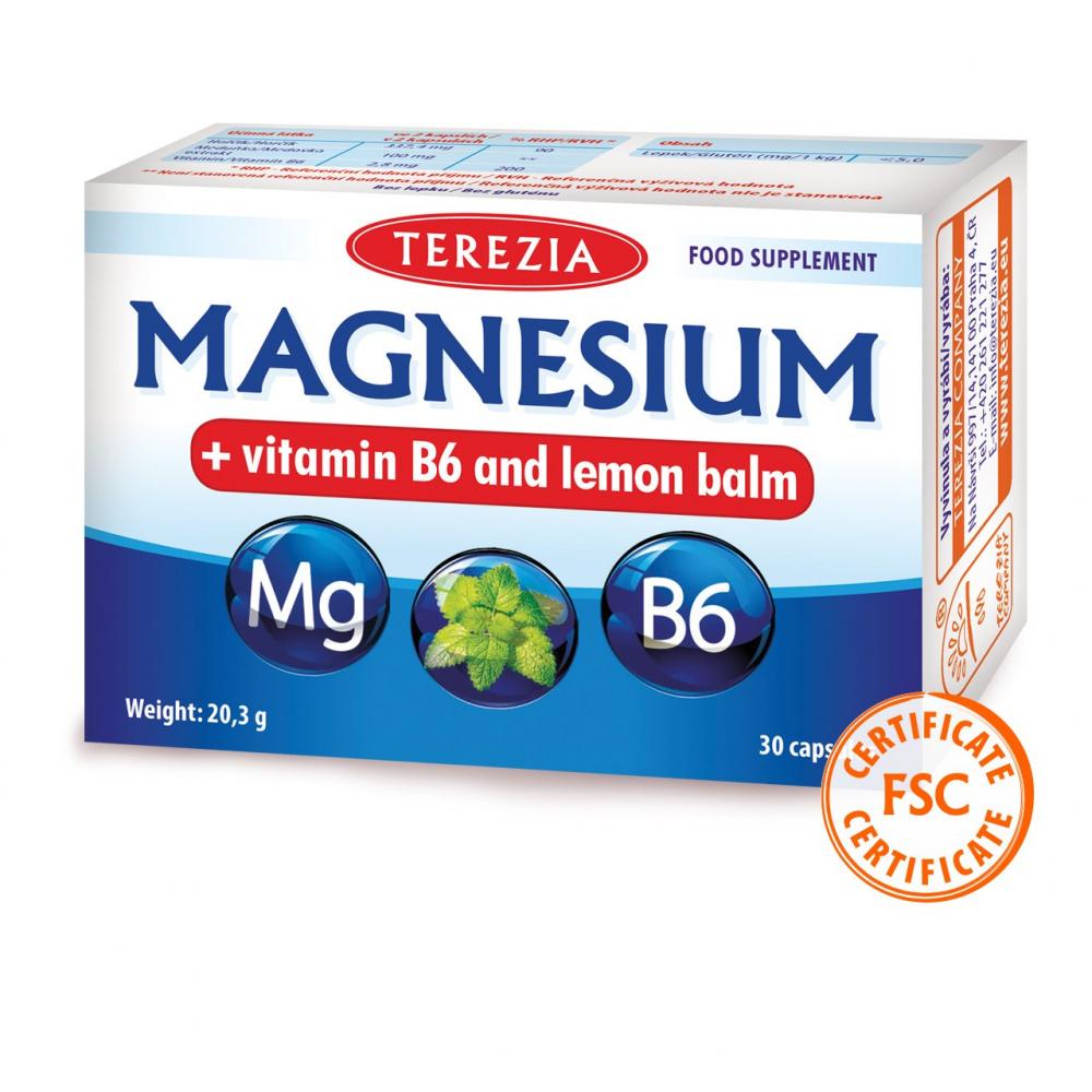 MAGNESIUM - vitamin B6 and Lemon balm