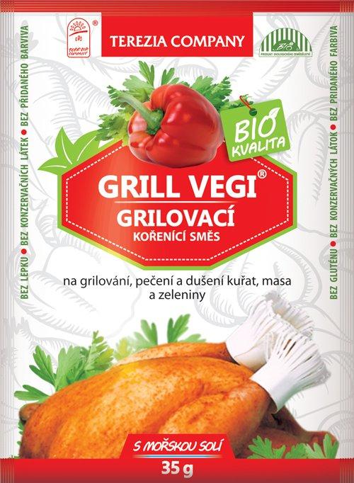 Levně Grilovací kořenící směs GRILL VEGI BIO 35g