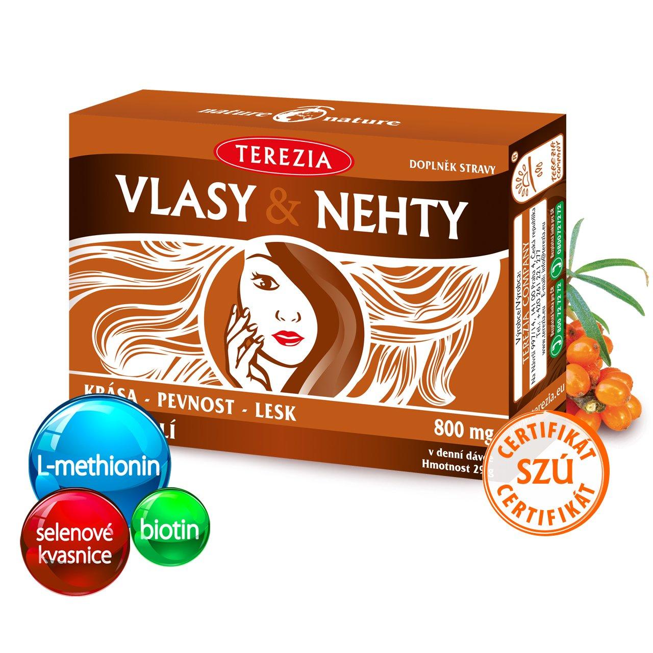 Levně Vlasy & Nehty